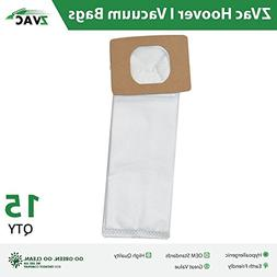 ZVac 15Pk Compatible Vacuum Bags Replacement for Hoover I Va