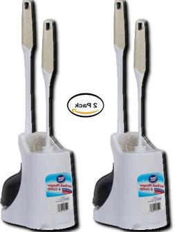 PACK OF 2 - Great Value Bowl Brush Plunger & Caddy