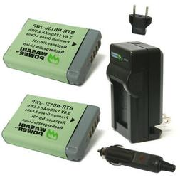 Wasabi Power Battery  and Charger for Canon NB-13L