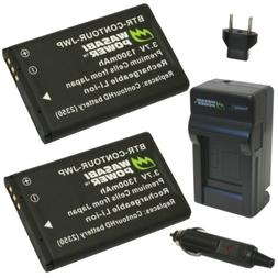 Wasabi Power Battery  and Charger for Contour 2350, 2450, 29