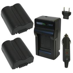 Wasabi Power Battery and Charger Kit for Leica BP-DC5, BP-DC