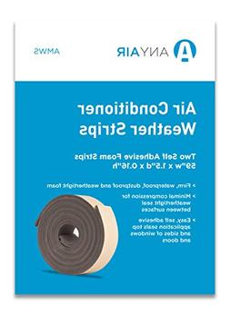 ANYAIR AMWS Window Seal Air Conditioner Self Adhesive Foam W