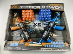 Atomic Power Popper 2X Battle Pack with 2 Power Poppers & 72