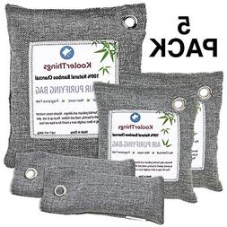 Bamboo Charcoal Air Purifying Bags Variety 5 Pack 1 x 500g 2