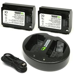 Wasabi Power Battery  and Dual USB Charger for Sony NP-FZ100