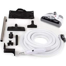 GV Central Vacuum kit with Power Head 30 foot hose and tools