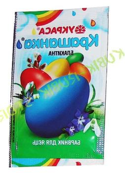 Coloring Dye, Tie Dyes, Easter Egg Dye Coloring Agent - Blue