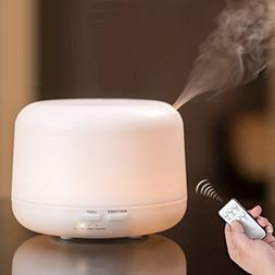 Cool Mist Air Humidifier ,Ultrasonic Aroma Essential Oil D