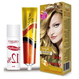 Cruset Hair Color A911 Golden Blond with Conditioner Permane