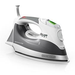 BLACK+DECKER D2030 Auto-Off Digital Advantage Iron, White