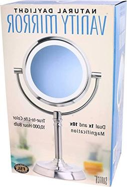 Sunter Natural Daylight Vanity Makeup Mirror, NEW 2016 Model