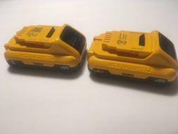 DeWALT  - 2-Pack - 20V Max  Battery Packs.....FREE Shipping