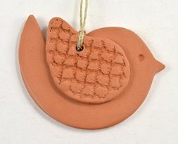 Essential Oil Diffuser Aromatherapy Terra Cotta Clay Bird Or