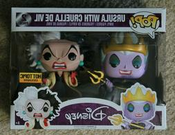 Funko - Disney - Ursula and Cruella De Vil Hot Topic Exclusi