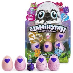 Hatchimals CollEGGtibles Season 2-  4 Pack and Bonus By Spin
