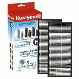 Honeywell True HEPA Air Purifier Replacement Filter 2 Pack H