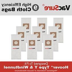 Hoover HEPA Vacuum Bags TYPE Y & Z for Hoover Upright Vacs,
