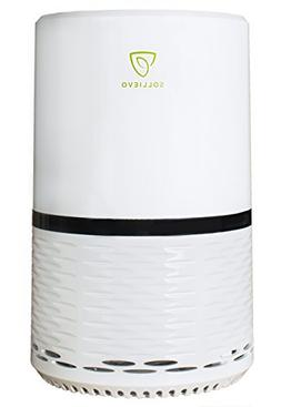 Sollievo Ionic Air Purifier with True HEPA Filter - Compact