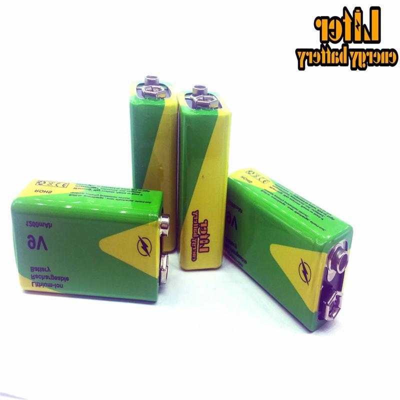 1/<font><b>2</b></font>/4 High Capacity 1200mah 9v Ni-mh Batteries Nimh Instruments Batterey