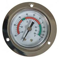 1EPE9 Analog Panel Mt Thermometer, -40 to 60F