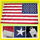 2 PACK - 5x8 USA AMERICAN US DELUXE NYLON EMBROIDERED STARS
