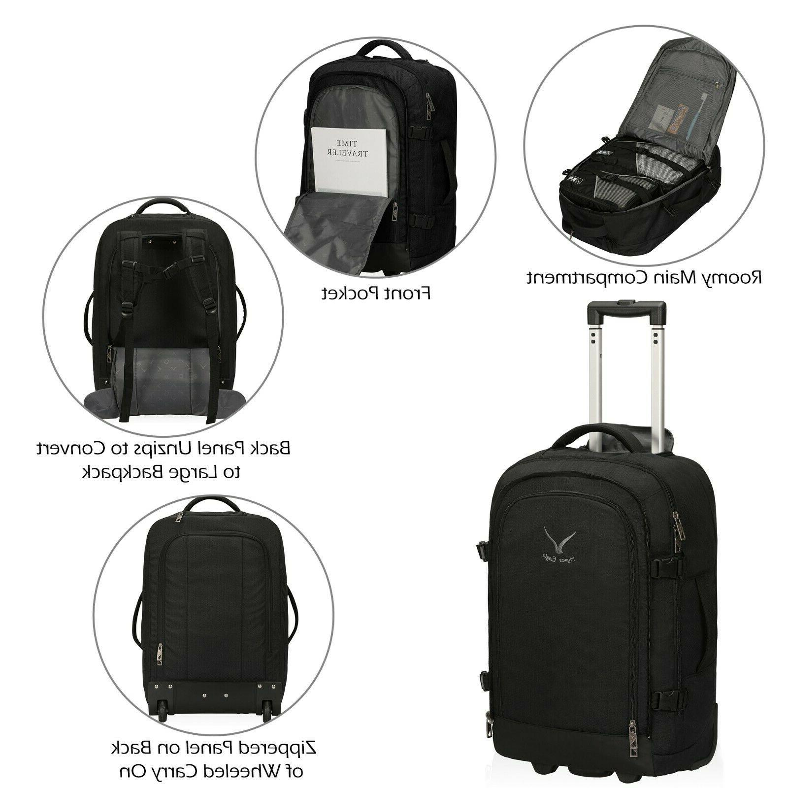 Hynes Eagle 2 1 Travel Rolling Carry on Packing Cube