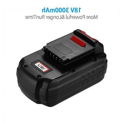 NiCd Replacement Battery for Porter Cable PC18B Cordless Tool
