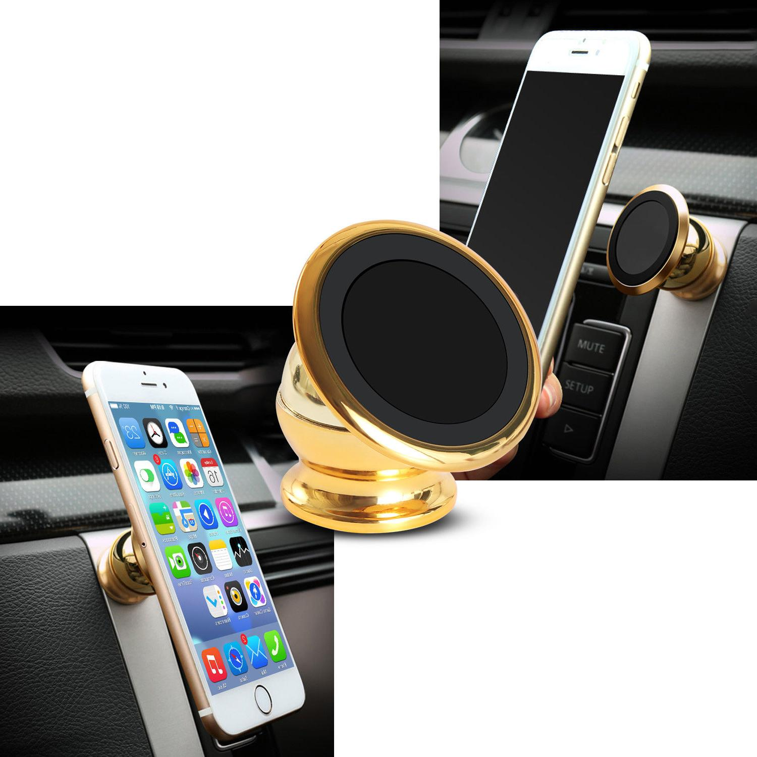 2-Pack 360 Degree Car Mount Dashboard For