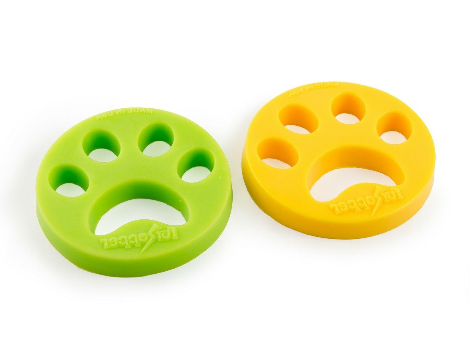 2-pack FURZAPPER DOG CAT Hair your Laundry-Add & Dryer