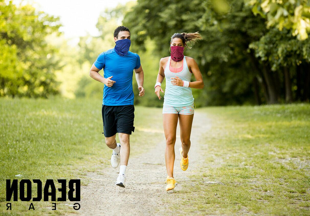 2 Neck Gaiter with Filter PM2.5 Filters