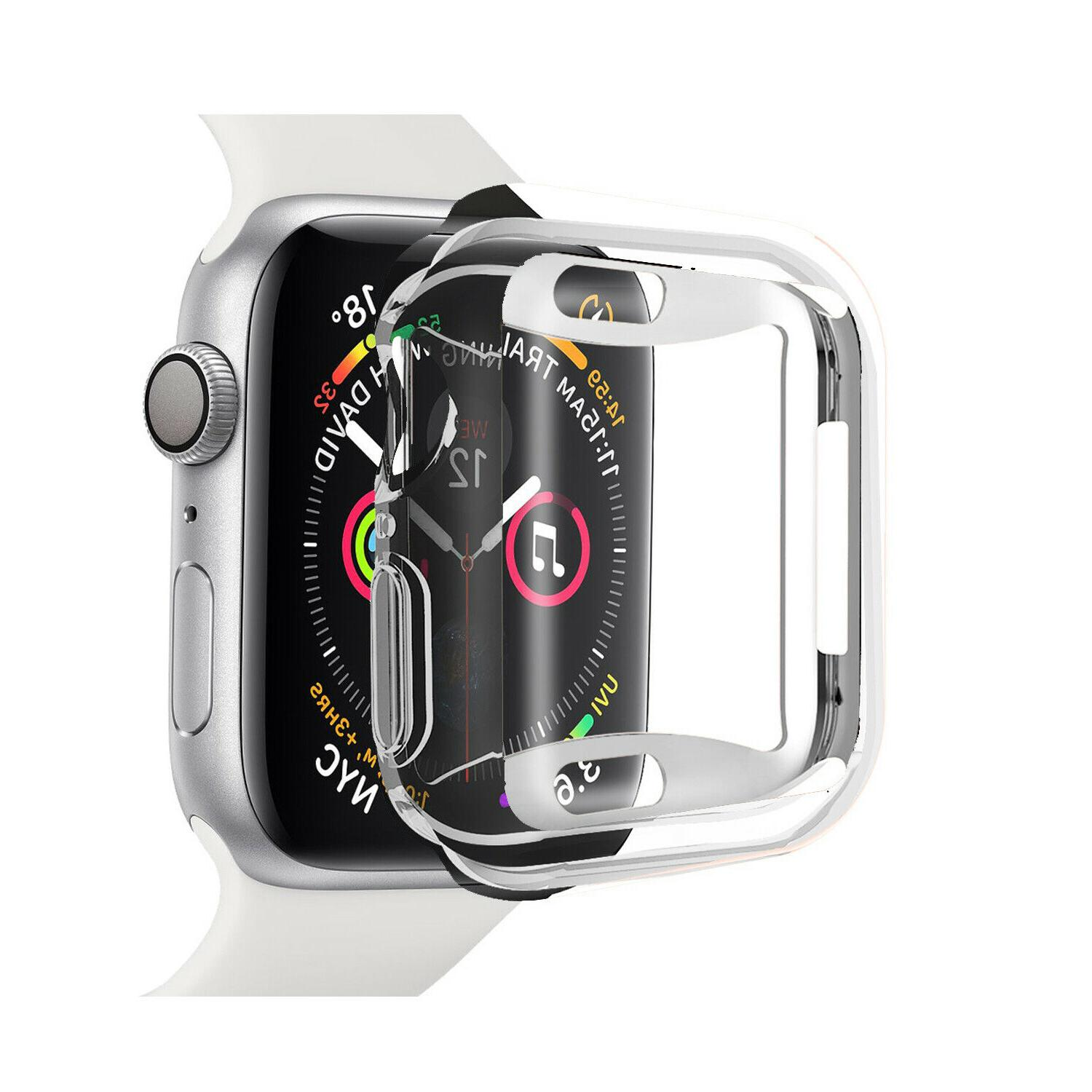 2 For Watch Series 40/44mm Screen Case Cover