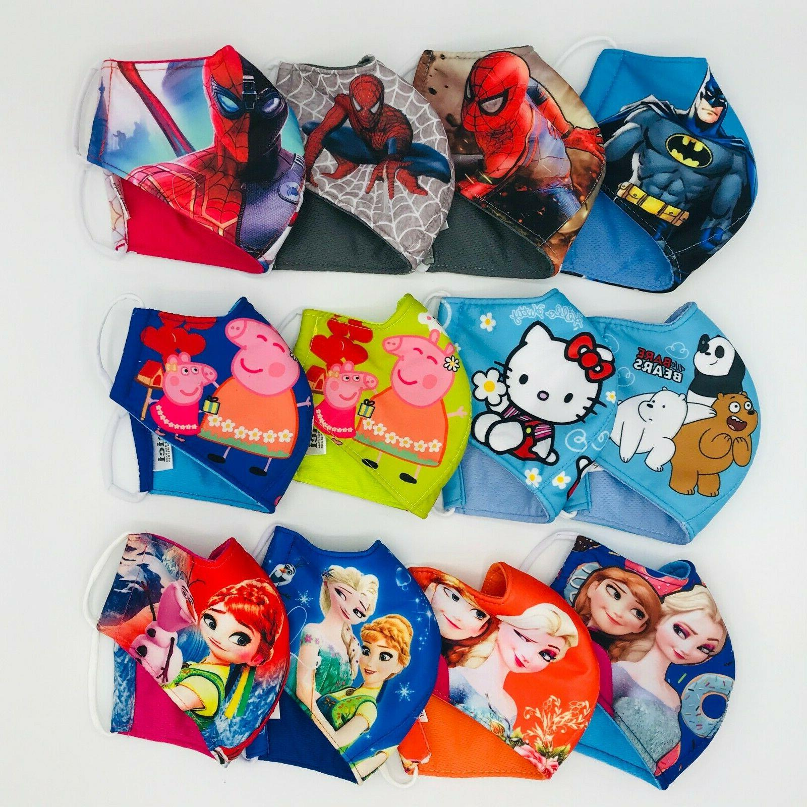 2/3 Mask Polyester Fabric 3-Fly Washable