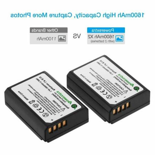 Powerextra 2 Batteries Replacement for