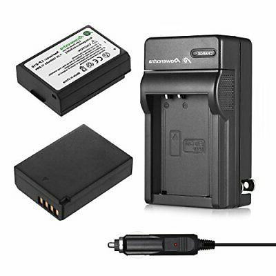 2 pack lp e10 batteries and charger