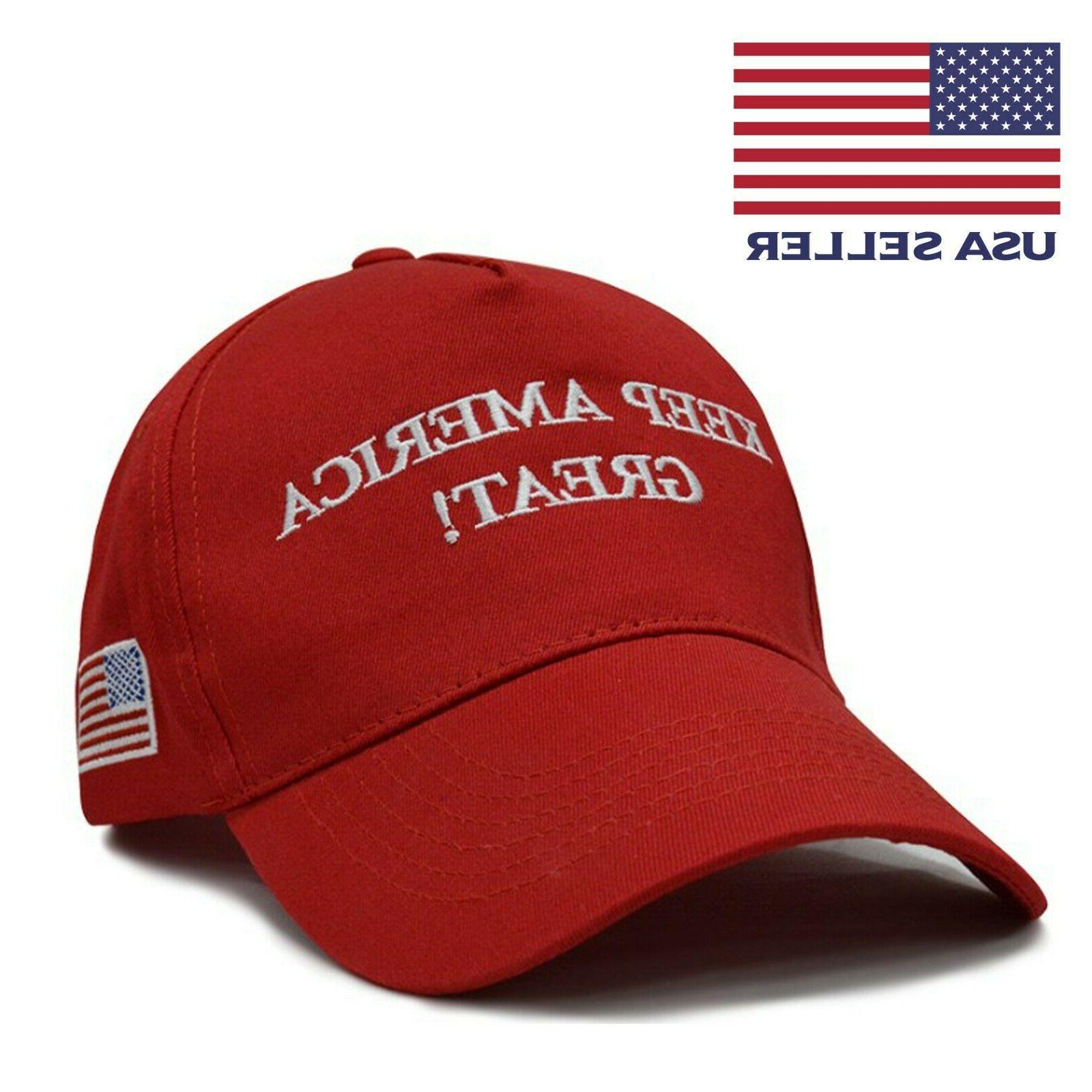 2-Pack Great Again President Trump Hat Red USA