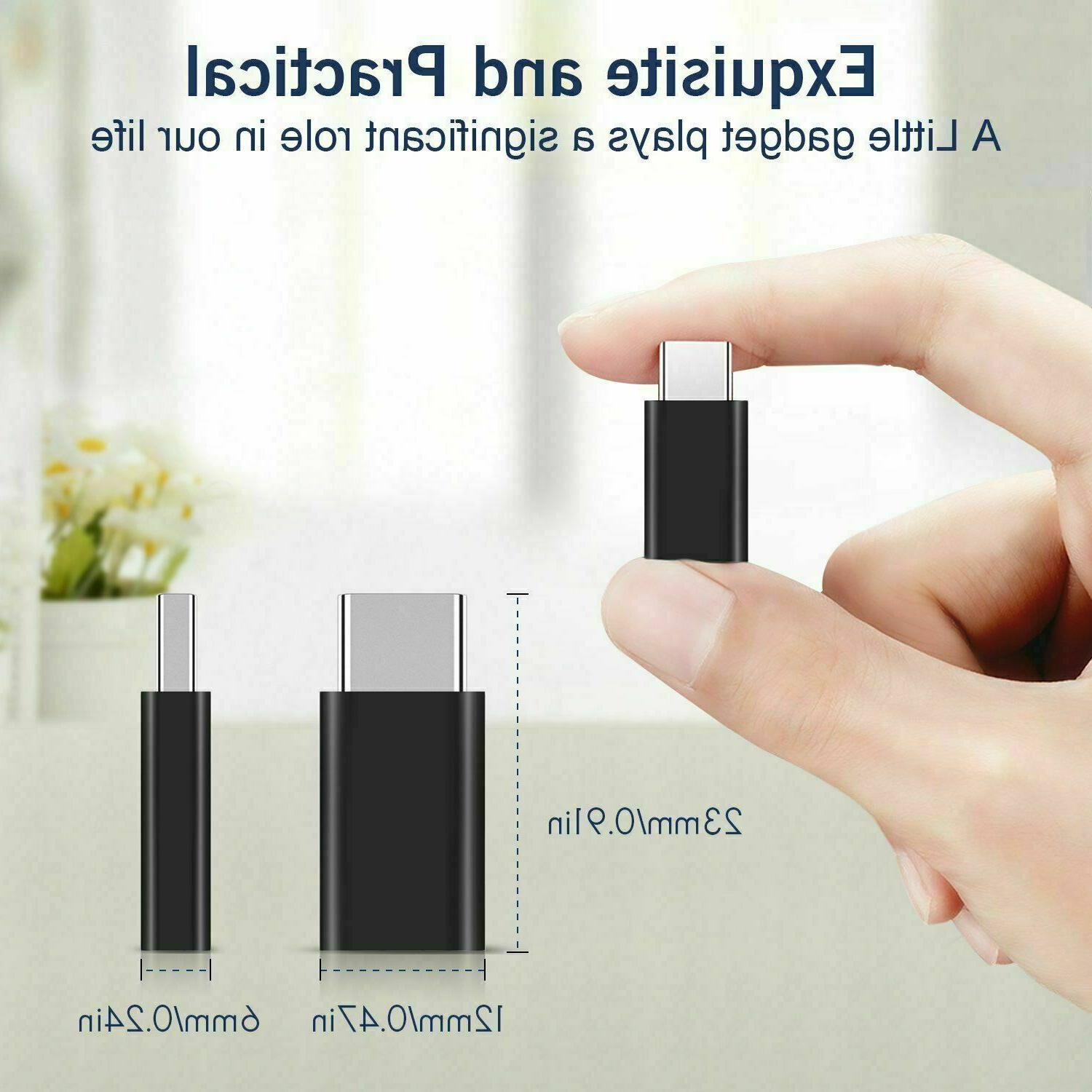 2 to Type Converter Micro-B USB-C Connector USA