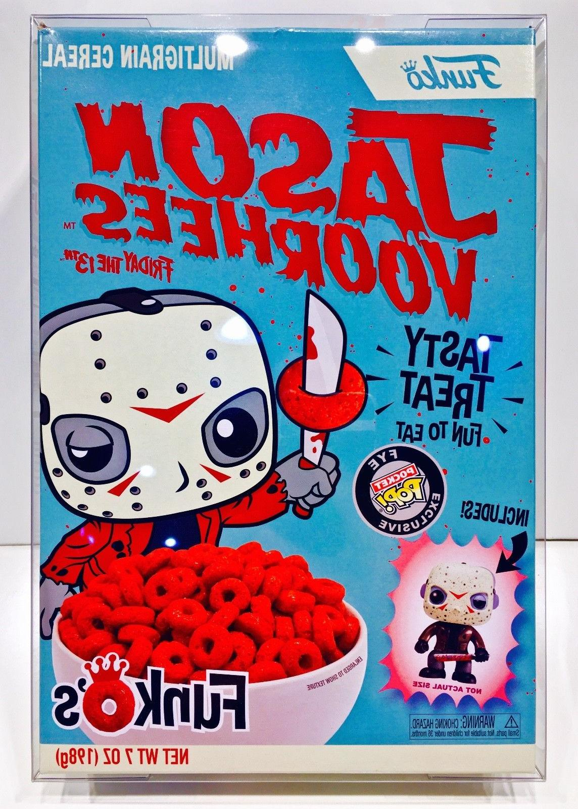 2 Pack Protectors For FUNKO CEREAL Boxes! Custom Crystal