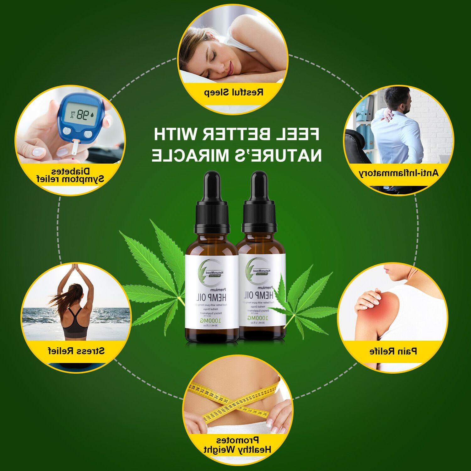 2 Pack Oil Reduce Joint Support 1000mg