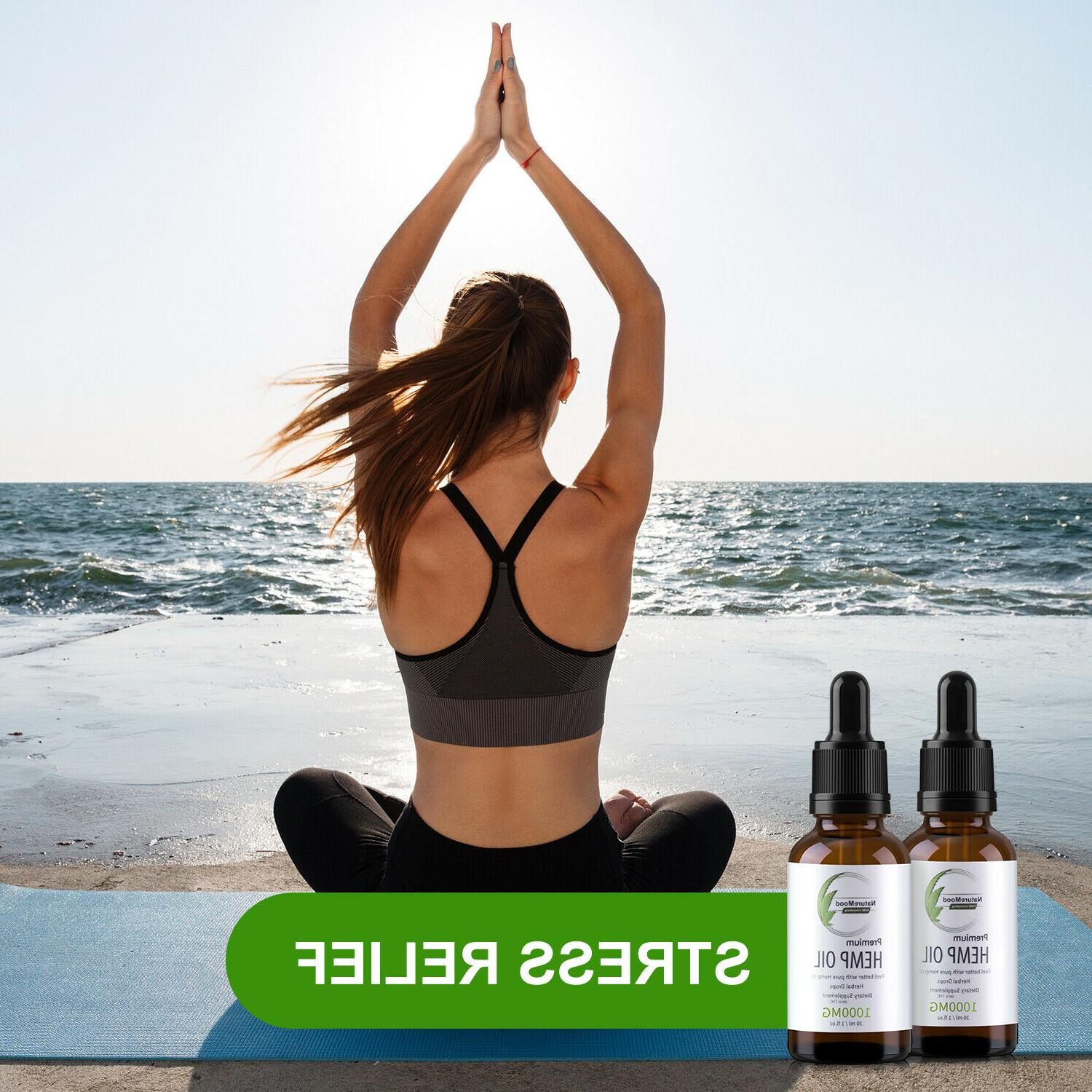 2 Pack Organic Reduce Stress 1000mg