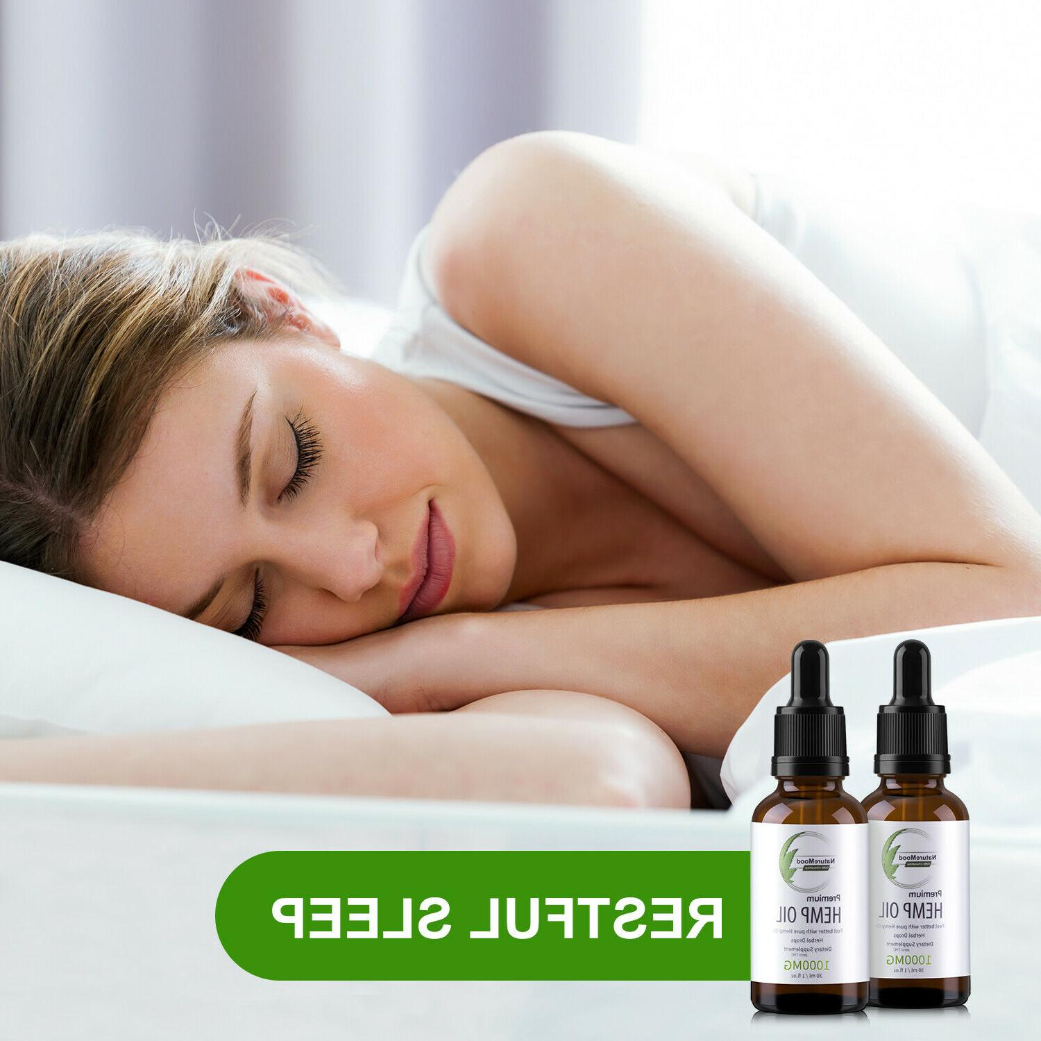 2 Organic Oil Extract Reduce Stress Joint 1000mg