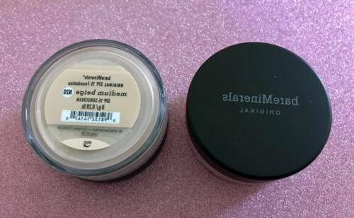 2 pack original medium beige escentuals foundation