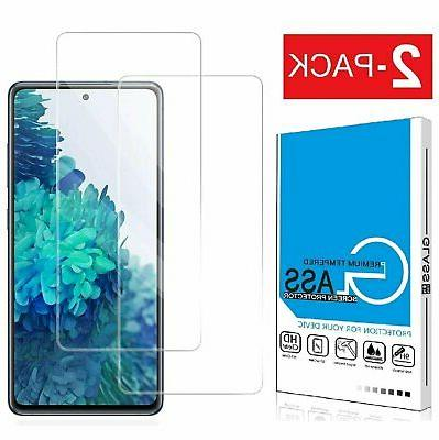 2 pack premium tempered glass film screen