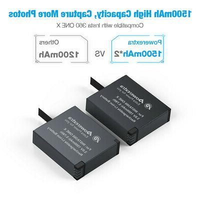 Powerextra Battery & Charger For X Cam