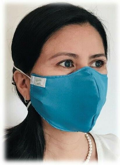 😷  Soft Cloth Face Mask - Washable and Reusable - 100% Co