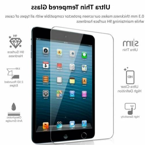 2 TEMPERED Screen Protector for 9.7 Pro 5th Air Gen
