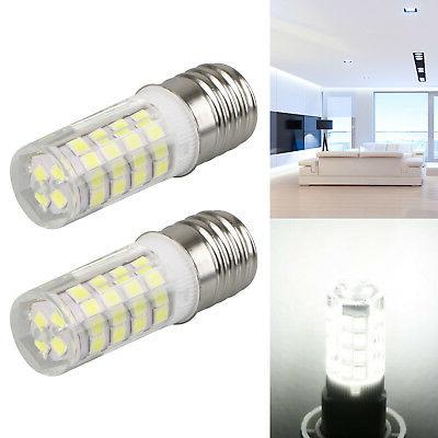 2Pack 120V E17 Base LED Microwave Replacement Bulb