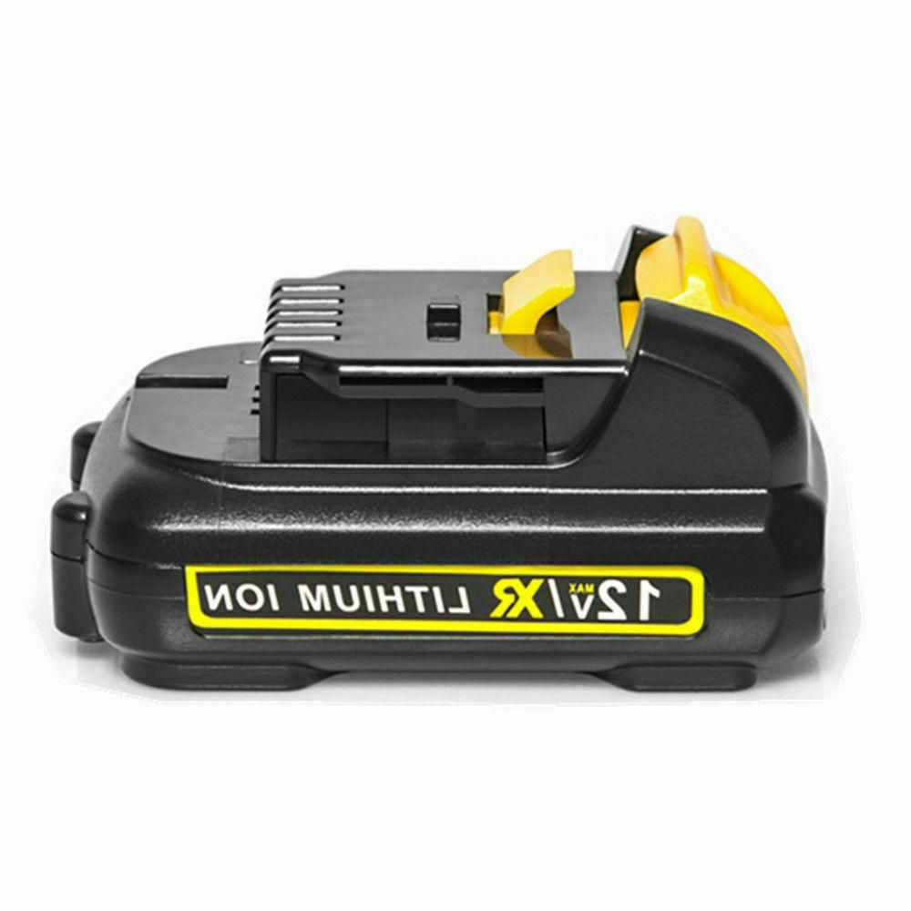 2Pack Lithium-ion Replacement Battery Dewalt