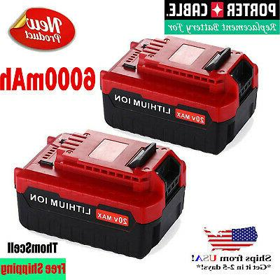 2pack 5 0ah 20volt max lithium battery