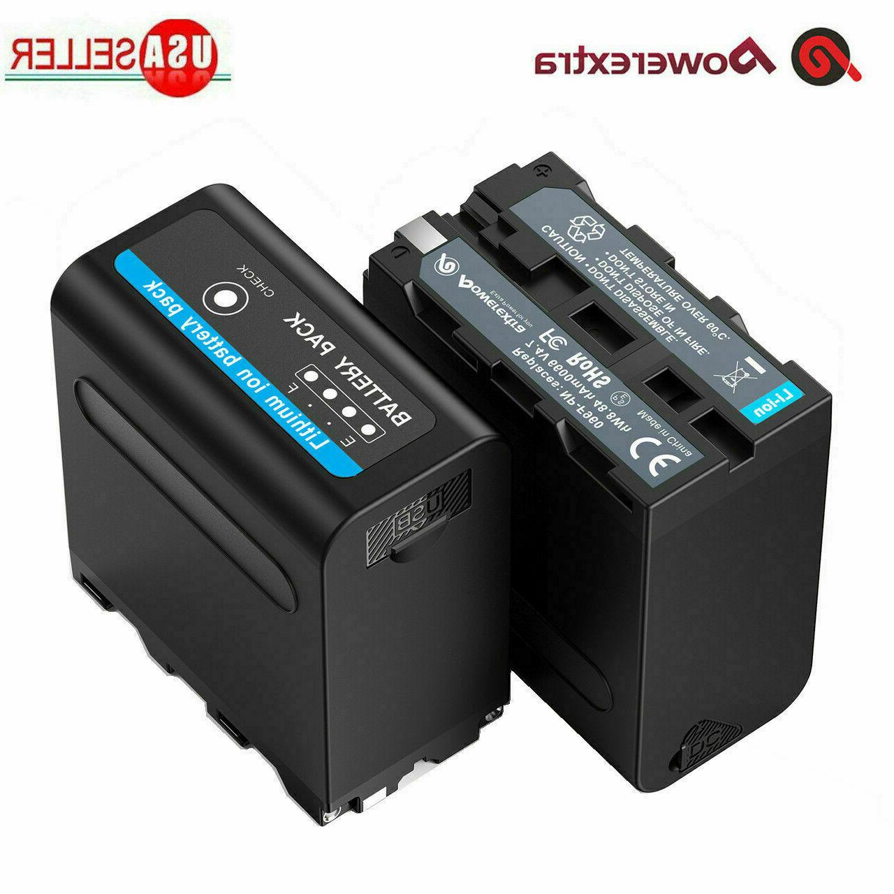 2pack 7 4v li ion battery