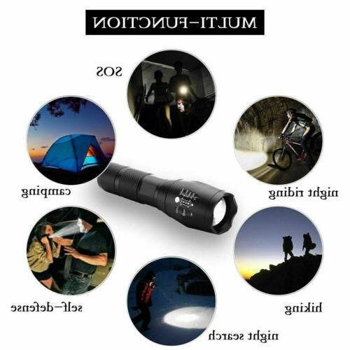 2Pack 90000LM Tactical Modes LED Zoom